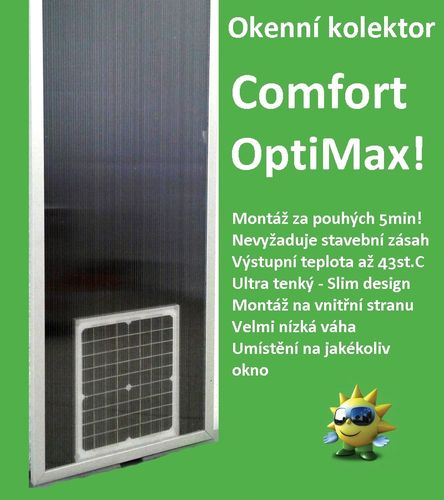 Okenní kolektor Comfort OptiMax S